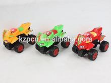 pull the light robot racing car