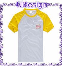 OEM custom print tshirts raglan sleeve t shirt dry fit t-shirts polyester mesh tshirt moisture wicking t shirts