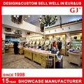 Guangzhou GJ OEM Factory made cosmetic shop design in mall store furniture