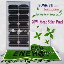 High quality 20W solar module