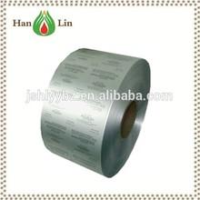 hard temper 20micron ptp aluminum foil for pills capsules tablets packaging