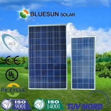 Bluesun MCS certificate 100 watt canadian solar pv panel