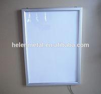 Size A4 Super bright aluminum snap frame led slim light box