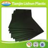 fluted reusable corrugated black antistatic sheet, antistatic sheet