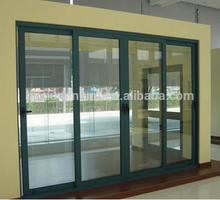 sliding door / aluminium interior door / glass door