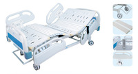 Hot selling ! Five-Function Full Electric Hospital Bed with PP Side Rail