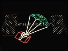 LED christmas motif string light /LED street decoration/street motif