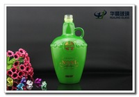 High quality 33oz spray glass bottle for olive oil with handle and screw cap cooking oil packing