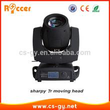 smooth rotating stage light moving head beam light 7r 230w