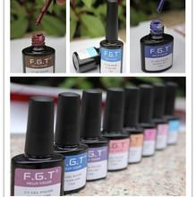 FGT summer fashion nail art resin decorated high quality uv gel german