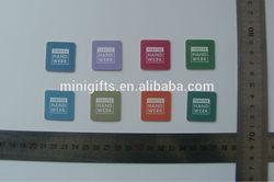 custom novelty colorful gel microfiber sticky screen cleaner