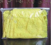 Hot selling Flat clear plastic cheap garment plastic bags with zipper
