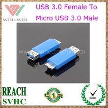 Micro USB Male to USB Female 3.0 USB Adapter