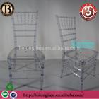 Transparent Plastic Chiavari Wedding chair