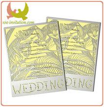 Custom Wedding Invitation Love Bird Theme Bird Of Paradise Laser Cut Wedding Card