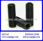 ISO 898 Hexagon Socket Set Screws with Flat Point