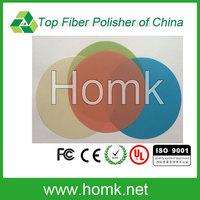 fiber optic polishing film in fiber optic equipment