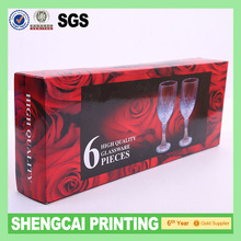 Wine glass packaging boxes