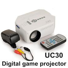 UC30 HD Home Theater MINI Portable Projector For Video Games TV Movie Support HDMI VGA AV