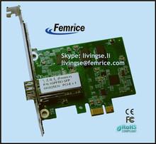 Intel 82583 chipset PC Network Adapter Single Port Gigabit Ethernet SFP Slot Computer Adapter