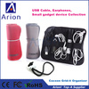 50pcs New Cocoon Grid-It Organizer storage Bag for USB cable Digital Gadget Devices OEM