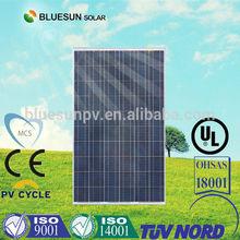 Bluesun best price 500 watt solar panel wholesale used in project