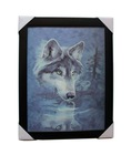 black frame 3d picture,,3d picture of animals