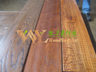 customized smooth lacquer russia oak wood flooring