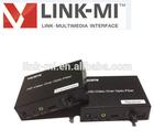LINK-MI OEM IR Remote control support Ethernet HDMI over fiber optic transmitter and receiver