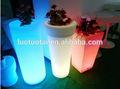 Alla moda ricaricabile a led vaso di fiori/LED vaso di fiore rotondo/grande vaso di fiori led