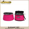 The latest nylon separable double layer pet travel bowl,Folding Pet Bowl