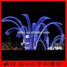 waterproof outdoor use blue light big led christmas motif light led christmas fireworks light