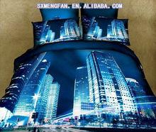 Print Hotel/Hostel/Motel Bedding Set/Bed Line