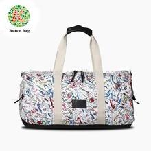New Fashion Cotton Canvas Duffel Bag