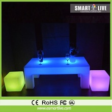 led lounge table