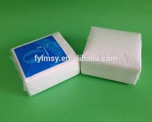 Party Disposables decorative virgin pulp1/4 folded paper napkin
