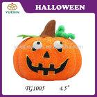 4.5 inch Outdoor Decoration Halloween EVA Pumpkin with Led Light