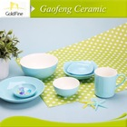 2014 hot sale 6pcs porcelain ware&china dinner ware