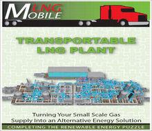 LNG Liquefaction Plant of trailer type