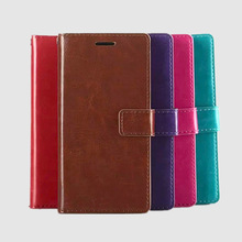 2014 Protctive stand wallet PU cell phone case for huawei ascend p7
