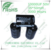 Snap-in 10000UF 50V 35*50 aluminum electrolytic capacitor