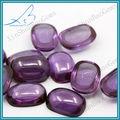 hot venda cabochão oval cor mudando coríndon sintético jóia de pedra