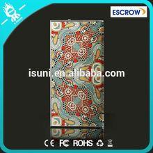 retro design for power bank 8000Mah 100% true capacity USB External Power Supply for phones