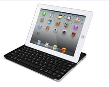 Aluminum bluetooth Keyboard with stand for iPad 2/3/4