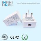 200M 500M Mini PLC Powerline communication modem network wireless router rj45 port Europe UK plug adapter