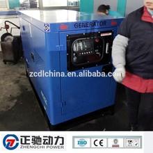 Super silent 380v 10kw generator diesel with UK brand engine 403A-15G