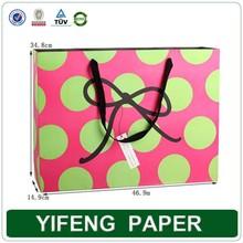 Color spot printing design paper bag printing