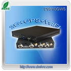 Advanced h.264 compression vehicle traverlling datas recording SD DVR With 3G/GPS/WIFI function