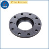 China precision OEM alloy steel output flange gear