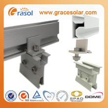 Solar PV Panel Mounting Amano Sheet Roof System Stand Seam Roof Hook